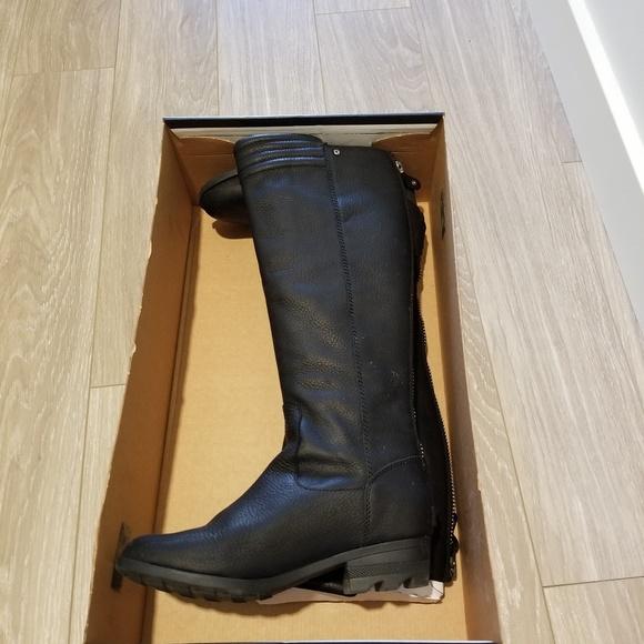 Sorel Danica Tall Waterproof Moto Boot